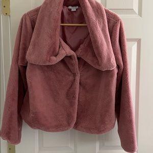 Pink super soft jacket